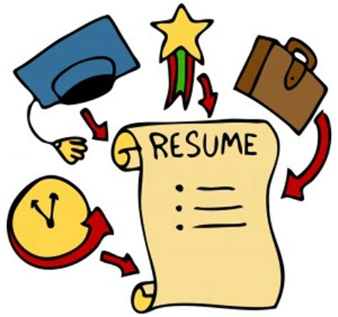 Resume with profile section